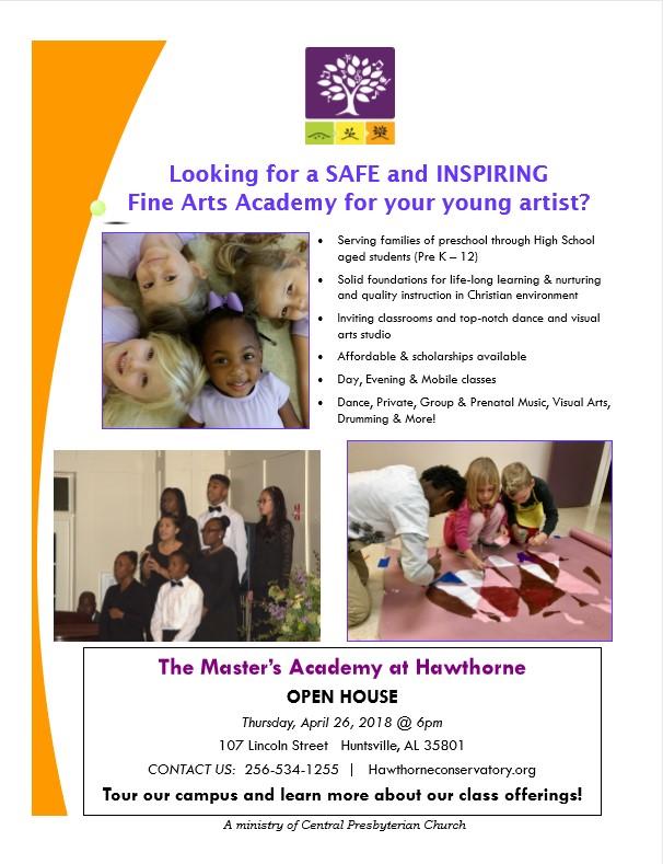 Open House 2018 Flyer